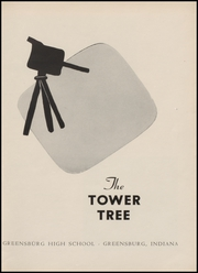 Page 5, 1953 Edition, Greensburg High School - Tower Tree Yearbook (Greensburg, IN) online yearbook collection