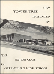 Page 5, 1959 Edition, Greensburg High School - Tower Tree Yearbook (Greensburg, IN) online yearbook collection