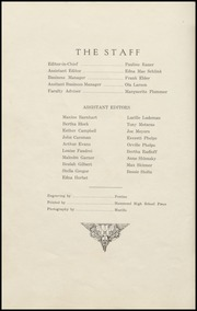 Page 6, 1928 Edition, Hammond Technical Vocational High School - Chart Yearbook (Hammond, IN) online yearbook collection