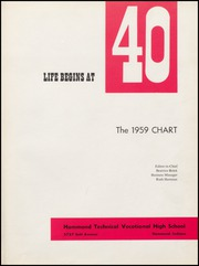 Page 5, 1959 Edition, Hammond Technical Vocational High School - Chart Yearbook (Hammond, IN) online yearbook collection