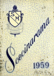 1959 Edition, Scecina Memorial High School - Scecinarama Yearbook (Indianapolis, IN)
