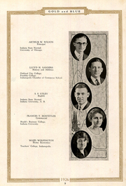 Page 13, 1926 Edition, Mitchell High School - Gold and Blue Yearbook (Mitchell, IN) online yearbook collection