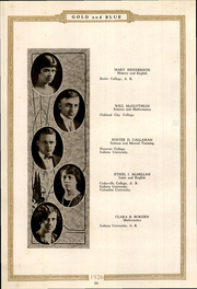 Page 14, 1926 Edition, Mitchell High School - Gold and Blue Yearbook (Mitchell, IN) online yearbook collection