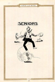 Page 17, 1926 Edition, Mitchell High School - Gold and Blue Yearbook (Mitchell, IN) online yearbook collection