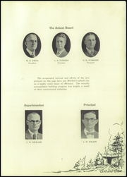 Page 11, 1928 Edition, Mitchell High School - Gold and Blue Yearbook (Mitchell, IN) online yearbook collection