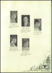 Page 17, 1928 Edition, Mitchell High School - Gold and Blue Yearbook (Mitchell, IN) online yearbook collection