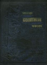 1937 Edition, Mitchell High School - Gold and Blue Yearbook (Mitchell, IN)