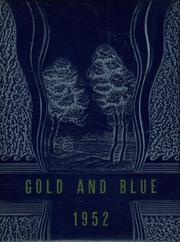 1952 Edition, Mitchell High School - Gold and Blue Yearbook (Mitchell, IN)