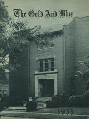 1953 Edition, Mitchell High School - Gold and Blue Yearbook (Mitchell, IN)