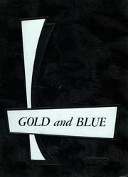 1959 Edition, Mitchell High School - Gold and Blue Yearbook (Mitchell, IN)