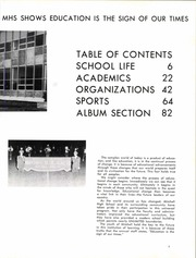 Page 9, 1968 Edition, Mitchell High School - Gold and Blue Yearbook (Mitchell, IN) online yearbook collection