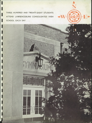 Page 7, 1942 Edition, Lawrenceburg High School - Orange and Black Yearbook (Lawrenceburg, IN) online yearbook collection