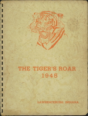 1945 Edition, Lawrenceburg High School - Orange and Black Yearbook (Lawrenceburg, IN)