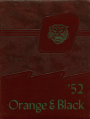 1952 Edition, Lawrenceburg High School - Orange and Black Yearbook (Lawrenceburg, IN)