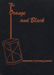 1954 Edition, Lawrenceburg High School - Orange and Black Yearbook (Lawrenceburg, IN)