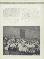 Page 9, 1954 Edition, Lawrenceburg High School - Orange and Black Yearbook (Lawrenceburg, IN) online yearbook collection