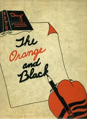 1958 Edition, Lawrenceburg High School - Orange and Black Yearbook (Lawrenceburg, IN)