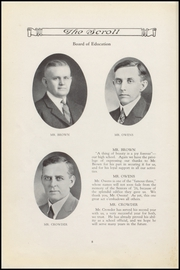 Page 10, 1926 Edition, Sullivan High School - Arrow Yearbook (Sullivan, IN) online yearbook collection