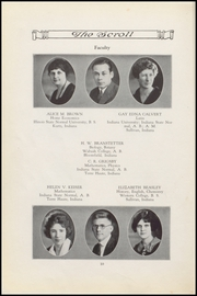 Page 12, 1926 Edition, Sullivan High School - Arrow Yearbook (Sullivan, IN) online yearbook collection