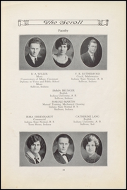 Page 13, 1926 Edition, Sullivan High School - Arrow Yearbook (Sullivan, IN) online yearbook collection
