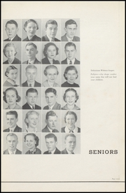 Page 9, 1937 Edition, Sullivan High School - Arrow Yearbook (Sullivan, IN) online yearbook collection