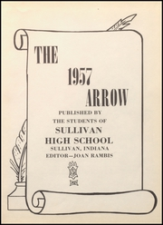 Page 5, 1957 Edition, Sullivan High School - Arrow Yearbook (Sullivan, IN) online yearbook collection