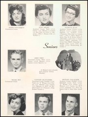 Page 14, 1958 Edition, Sullivan High School - Arrow Yearbook (Sullivan, IN) online yearbook collection