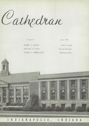 Page 9, 1945 Edition, Cathedral High School - Cathedran Yearbook (Indianapolis, IN) online yearbook collection