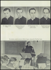 Page 15, 1951 Edition, Cathedral High School - Cathedran Yearbook (Indianapolis, IN) online yearbook collection