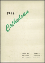 Page 5, 1952 Edition, Cathedral High School - Cathedran Yearbook (Indianapolis, IN) online yearbook collection