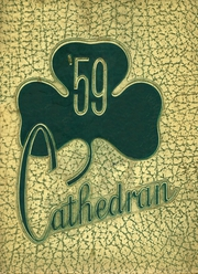 1959 Edition, Cathedral High School - Cathedran Yearbook (Indianapolis, IN)