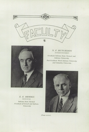 Page 11, 1925 Edition, Salem High School - Lyon Yearbook (Salem, IN) online yearbook collection