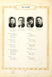 Page 12, 1926 Edition, Salem High School - Lyon Yearbook (Salem, IN) online yearbook collection