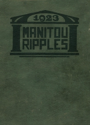 Page 1, 1923 Edition, Rochester High School - Manitou Ripples Yearbook (Rochester, IN) online yearbook collection
