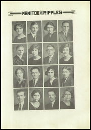 Page 11, 1923 Edition, Rochester High School - Manitou Ripples Yearbook (Rochester, IN) online yearbook collection
