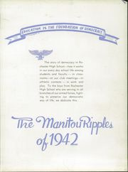 Page 7, 1942 Edition, Rochester High School - Manitou Ripples Yearbook (Rochester, IN) online yearbook collection