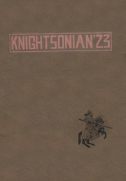 1923 Edition, Knightstown High School - Galaxy Yearbook (Knightstown, IN)