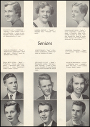Page 10, 1955 Edition, Knightstown High School - Galaxy Yearbook (Knightstown, IN) online yearbook collection