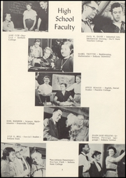 Page 7, 1955 Edition, Knightstown High School - Galaxy Yearbook (Knightstown, IN) online yearbook collection