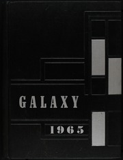 1965 Edition, Knightstown High School - Galaxy Yearbook (Knightstown, IN)