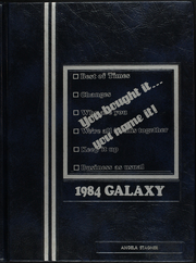 1984 Edition, Knightstown High School - Galaxy Yearbook (Knightstown, IN)