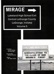 Page 7, 1969 Edition, Lakeland High School - Mirage Yearbook (LaGrange, IN) online yearbook collection