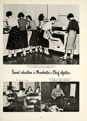 Page 13, 1958 Edition, Manchester High School - Crest Yearbook (North Manchester, IN) online yearbook collection