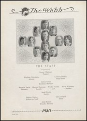 Page 10, 1930 Edition, Brownstown High School - Webb Yearbook (Brownstown, IN) online yearbook collection