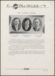 Page 15, 1930 Edition, Brownstown High School - Webb Yearbook (Brownstown, IN) online yearbook collection