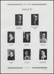 Page 11, 1934 Edition, Brownstown High School - Webb Yearbook (Brownstown, IN) online yearbook collection