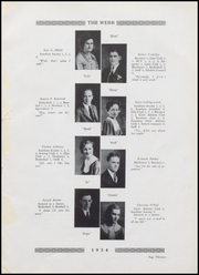 Page 15, 1934 Edition, Brownstown High School - Webb Yearbook (Brownstown, IN) online yearbook collection