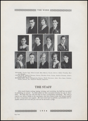 Page 8, 1934 Edition, Brownstown High School - Webb Yearbook (Brownstown, IN) online yearbook collection