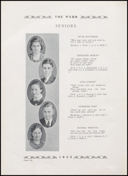 Page 14, 1935 Edition, Brownstown High School - Webb Yearbook (Brownstown, IN) online yearbook collection