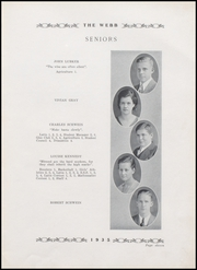 Page 15, 1935 Edition, Brownstown High School - Webb Yearbook (Brownstown, IN) online yearbook collection